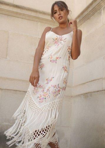 Vestido Fedra crema