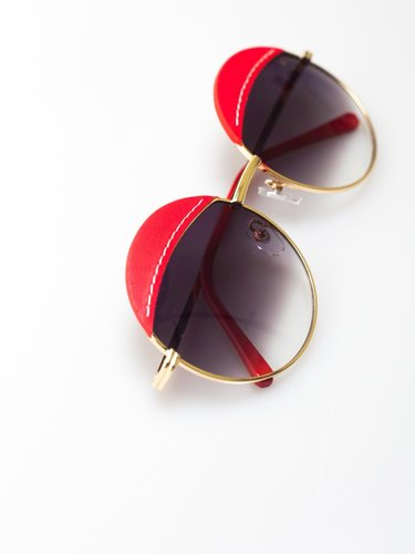 Gafas redondas adelita Rojas