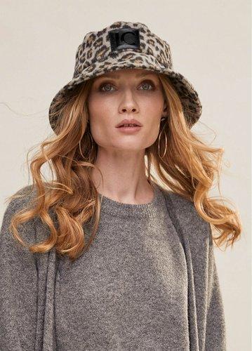 Sombrero animal print Lola Casademunt
