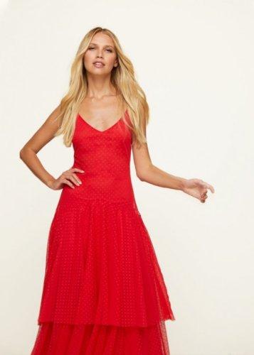 Vestido Paula Rojo