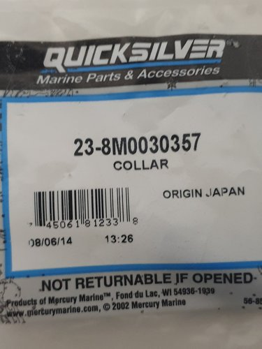 COLLAR QUICKSILVER
