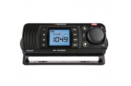 Radio Marina GR300BT AM/FM con Bluetooth