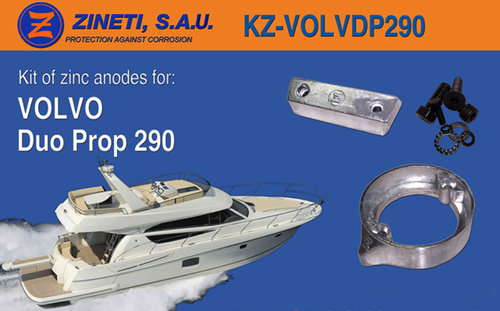 KIT ANODOS VOLVO DP-290
