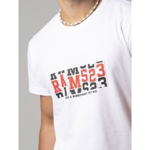 Camiseta blanca Rams23