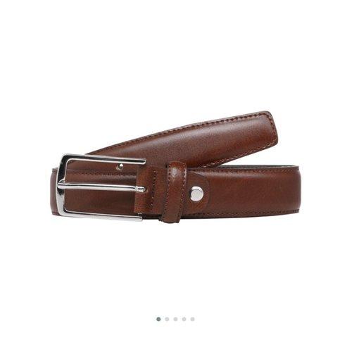 Cinturón vestir marrón