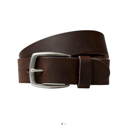 Cinturón marrón vestir cab.