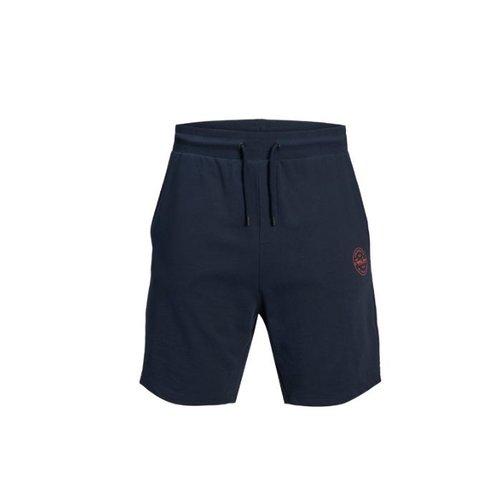 Pant. corto azul marino deportivo.