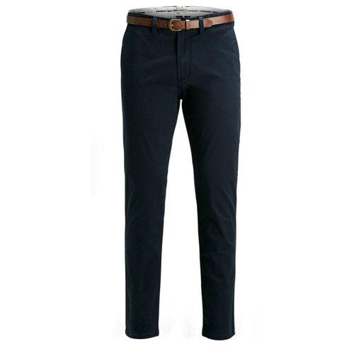 Pantalón semi sport azul marino