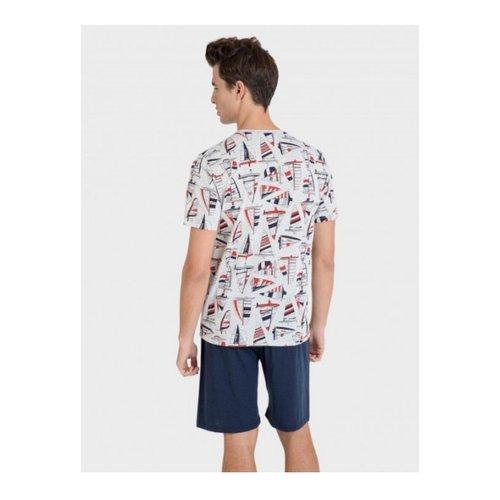 Pijama punto estampado