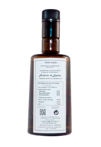 Aceite de oliva virgen extra ecológico botella Bell 500 Ml