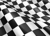 Vinilo Bandera de carreras 3M